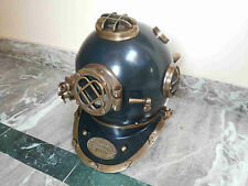 Antique Nautical Vintage Brass Diving Divers Helmet U.S Navy Mark V