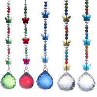 Set 5 Maker Hanging Suncatcher Crystal Ball Prism Feng Shui Drops Pendant 30mm