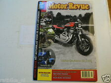 MOTOR REVUE 2008-05 POSTER YAMAHA AS1 KENT ANDERSON REPLICA,RD 350LC,XR1200,WLA