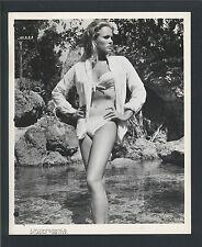 URSULA ANDRESS CHEESECAKE - 1962 DR. NO - FIRST JAMES BOND 007 FILM - KEY BOOK