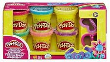 Play-Doh Sparkle Collection Compound 6 Colours Includes 2 Cutters