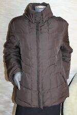 DAUNEN Mantel winter Jacke Dauneneparka leicht BROOKSHIRE Gr. 42 TOP  braun TOP