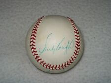 SANDY KOUFAX NOLAN RYAN BOB FELLER TRIPLE AUTOGRAPHED BASEBALL NO HIT KINGS