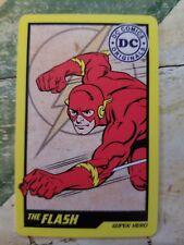Dc Comic Arcade Card flash Rare Non Stamped Coin Pusher Non Elaut