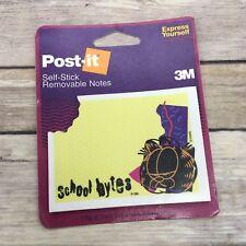 "Vintage 3M Post-It Notes School Bytes 2 7/8""x4"" New Retired 1994"