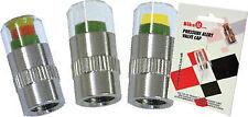Válvula de Presión Neumáticos Motocicleta Alerta Cap PSI 35 - 37-le advierte de baja presión