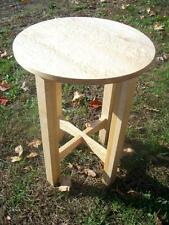 Vermont Birdseye Maple Tabouret Table Free Shipping