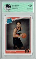 Gary Trent Jr. 2018 Donruss Basketball #199 Rookie Card PGI 10