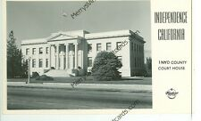 California , Inyo County Court House Rppc Frashers Vintage (Ca-I Misc)