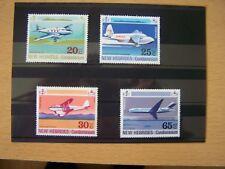 New Hebrides,1972,Aircraft Set Of 4 Vals Complete,U/M,Excellent.