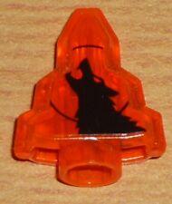Lego Monster Fighters 1 Mondstein in transparent orange (mit Aufdruck)