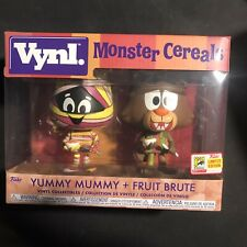 Funko Vynl Monster Cereals Yummy Mummy & Fruit Brute Offical SDCC 2018 Exclusive