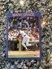 Mark Grace 1989 Starline Birthday Card Chicago Cubs MLB Baseball