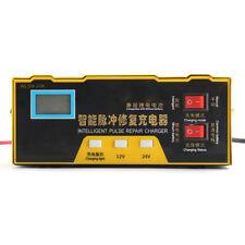 12V/24V 100AH Battery Charger Intelligent Acid Pulse Repair Type Lead Acid Lithi