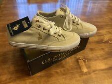 Us Polo Assn Kiama Ln Beige Sneaker Mens Shoes Size: 9.5 M