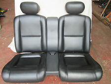 94-05 ALFA ROMEO GTV 916 PH1 BLACK LEATHER REAR SEATS & HEADRESTS CLASSIC MINI