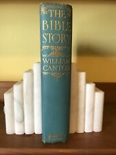 The Bible Story by William Canton - Pictorial binding with color plates and map