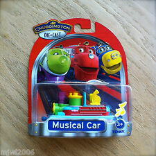 CHUGGINGTON Diecast MUSICAL CAR Lights and Sounds Learning Curve TOMY train