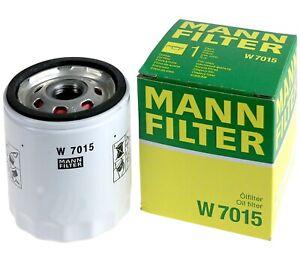 Mann-filter Oil Filter W7015 fits FORD AUSTRALIA MONDEO MB,MC 2.3 i 16 V