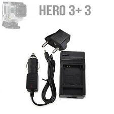GoPro  HD HERO3+ Caricabatterie per auto e adattatore con presa EU  GoPro 4