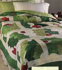 Happy Holly Days Quilt Pattern Pieced/Applique DH