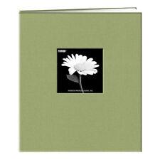 Pioneer MB811CBF 8-1/2x11 Fabric Memory Book Green (Same Shipping Any Qty)