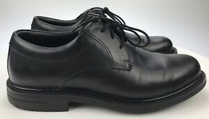 Mens 11 D Red Wing Black Leather Lace Up Oxfords Non-Composite Toe Air Heel 4070