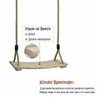 Adult Children Swing Seat wooden Swing Seat Outdoor Indoor Playground Toys Gifts