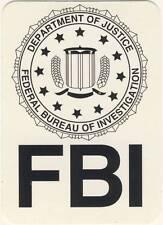 FBI - FUN - Aufkleber Sticker - Neu #205