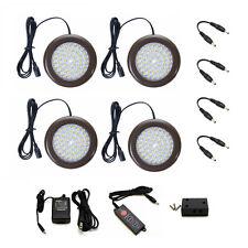 Lightkiwi C1967 3.5 inch Warm White LED Puck Lights - 4 Pack Kit