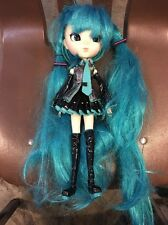 Used Groove Pullip P-034 Vocaloid Miku Hatsune ABS Doll import Japan