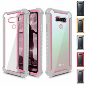 For LG Stylo 6 Hybrid Clear Shockproof Bumper Air Cushion Protective Case Cover
