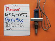 PIONEER RSG-057 PUSH SWITCH TAPE MEM OFF ON COUNTER CT-F700 CASSETTE DECK