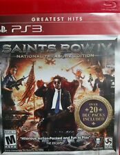 Saints Row 4 IV National Treasure Edition  PS3 Over 20 DLC Packs included