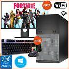 Fast I5 Gaming Pc Hp Dell Tower Bundle Computer Intel I5 4th Gen 8gb 500gb