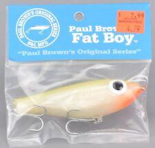 Paul Browns Original Series Mirrolure Fat Boy 1 Fishing Lure Q1