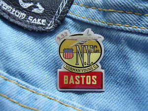 Pin Bastos American Blend N.Y.c Norman Young Cigarettes Zigaretten USA