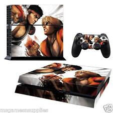 PS4 Playstation 4 Street Fighter Ryu Console Skin Decal Sticker 3M ULTRA QUALITY