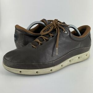 Ecco Gore-Tex Surround Golf Shoes Brown Leather Size 42 Men's Size 8.5