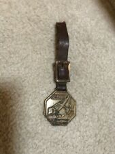 Old Vintage Advertisin 00004000 G Manitowoc Engineering Corp. Speed Crane Watch Fob