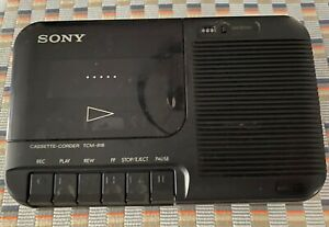 Sony Cassette Recorder TCM-818 Black Used **Working condition** Read description