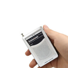 AM FM Mini Radio, Battery Operated Radio, Portable Pocket Radio *Fast Shipping*