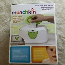 Munchkin Warm Glow Wipe Warmer White Green