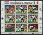 Paraguay 1985 Fußball WM Soccer FIFA World Cup 1986 Mexico 3843 Kleinbogen MNH