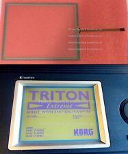 Korg Triton Extreme EX61 EX76 EX88 D16XD D32XD Touch Screen Digitizer Panel