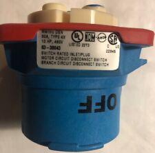 MELTRIC 63-38043 DSN30 INLET; 480VAC, 3P+G, 30AMP New No Box
