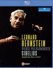 Leonard Bernstein conducts Sibelius [Blu-ray], New DVDs