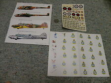 Esci decals 1/72 Avro Anson Handley Page Hampden variants Lot 1    E78
