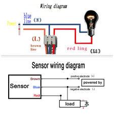 LED 110-240V 100W Wall Light Switch Infrared PIR Motion Sensor Detector Home