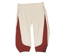 Russell Women's Low Rise Knicker Softball Pant Color: White/Cardinal Red Sz: Xl
